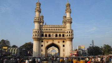 Charminar -Hyderabad -Andhra -Pradesh - India